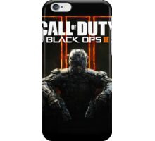 call of duty black ops 3 iPhone Case/Skin