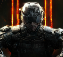 call of duty black ops 3 Sticker