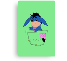 Pocket Eeyore Canvas Print
