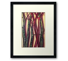 Poke and Sycamore Limbs Framed Print