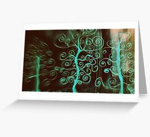 subliminal abstract Greeting Card