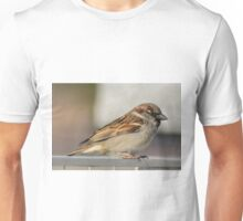 Male Sparrow Unisex T-Shirt