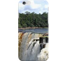 Hola from Kaieteur Falls iPhone Case/Skin