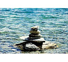 Zen in the water .. Photographic Print