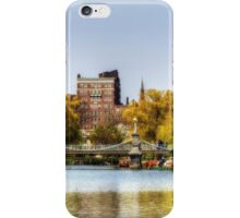 Springtime in Boston iPhone Case/Skin