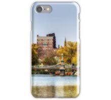 Springtime in Boston iPhone Case/Skin
