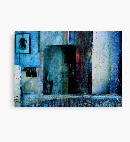 THE FACE BEHIND THE MIRROR Canvas Print
