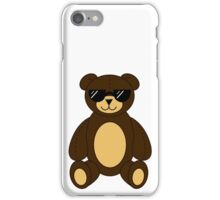 Cool Teddy Bear iPhone Case/Skin