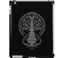 Dark Acoustic Guitar Tree of Life  iPad Case/Skin