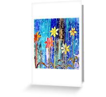 Spring come to the Flowers Greeting Card