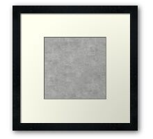Silver Oil Pastel Color Accent Framed Print