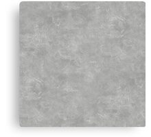 Silver Oil Pastel Color Accent Canvas Print