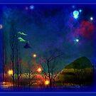 Alien Landscape by Rick Wollschleger