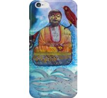 Learning to meditate iPhone Case/Skin