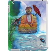 Learning to meditate iPad Case/Skin
