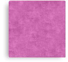 Spring Crocus Oil Pastel Color Accent Canvas Print