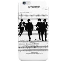 Revolution Sheet Music iPhone Case/Skin