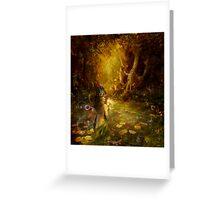 The secret pond Greeting Card