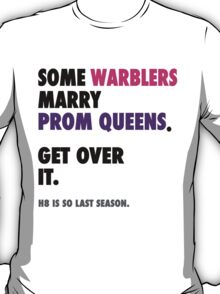 Glee - Some Warblers Marry Prom Queens T-Shirt