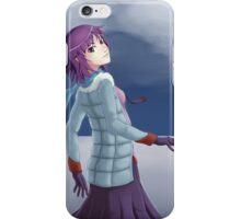 Senjougahara Hitagi Illustration Bakemonogatari iPhone Case/Skin