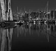 Macina Mono Reflection by Edwin  Catania