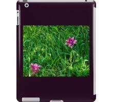Origami Iris iPad Case/Skin