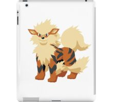 Arcanine Pokemon Simple No Borders iPad Case/Skin