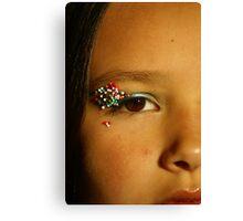Candy Sprinkles Canvas Print