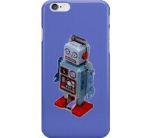 Blue Robot - T-Shirt etc... iPhone Case/Skin