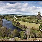 Views over the river Spey by Shaun Whiteman