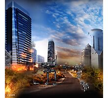 2090 : THE ZAROTEC TAKE CITY BY CITY Photographic Print