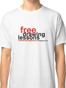 freedrawinglesson 5 Classic T-Shirt