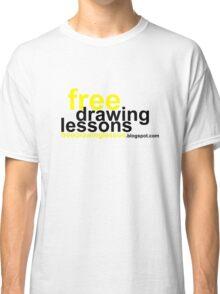freedrawinglesson 6 Classic T-Shirt