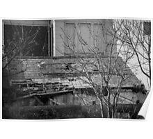Abandoned Building - Dublin Poster