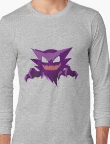 Haunter Pokemon Simple No Borders Long Sleeve T-Shirt