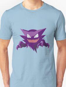 Haunter Pokemon Simple No Borders Unisex T-Shirt
