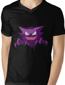 Haunter Pokemon Simple No Borders Mens V-Neck T-Shirt