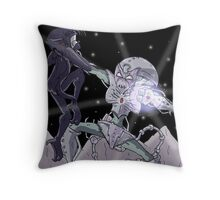 Here Comes the Blow! Throw Pillow