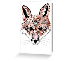 Mr Foxy Greeting Card