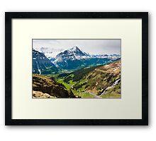 grindelwald valley Framed Print