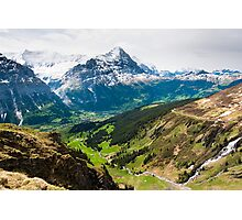 grindelwald valley Photographic Print