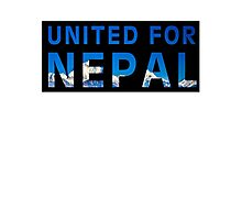 United For Nepal Photographic Print