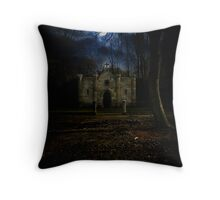 Entrance to the realm of the dead / Eingang ins Totenreich Throw Pillow
