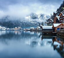 Winter in Hallstatt, Austria by Yen Baet