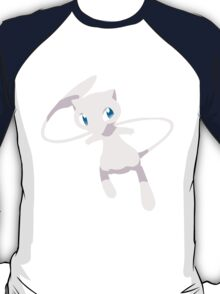 Mew Pokemon Simple No Borders T-Shirt