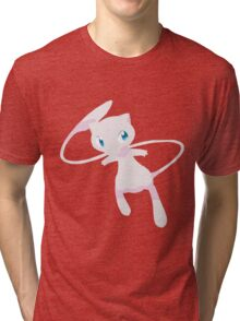 Mew Pokemon Simple No Borders Tri-blend T-Shirt