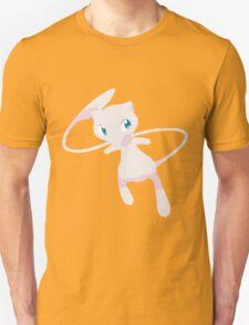 Mew Pokemon Simple No Borders Unisex T-Shirt