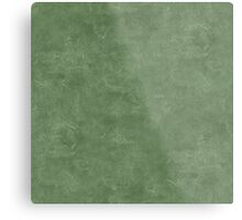 Vineyard Green Oil Pastel Color Accent Metal Print