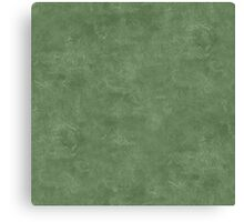 Vineyard Green Oil Pastel Color Accent Canvas Print
