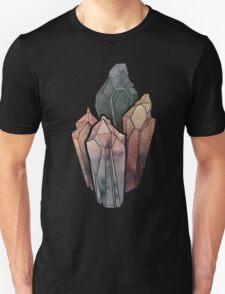 Dark Watercolor Crystals T-Shirt